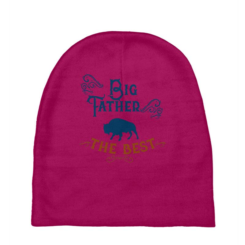 Custom The Big Father The Best Baby Beanies By Frg - Artistshot 38d53043c801
