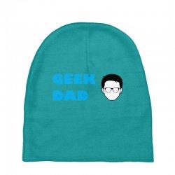 geek dad Baby Beanies | Artistshot