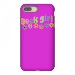 geek girl daisies iPhone 8 Plus Case | Artistshot