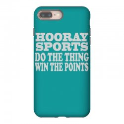 hooray sports win points iPhone 8 Plus Case | Artistshot