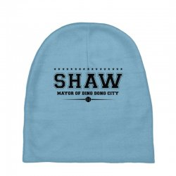 Travis Shaw, Mayor of Ding Dong City Baby Beanies | Artistshot