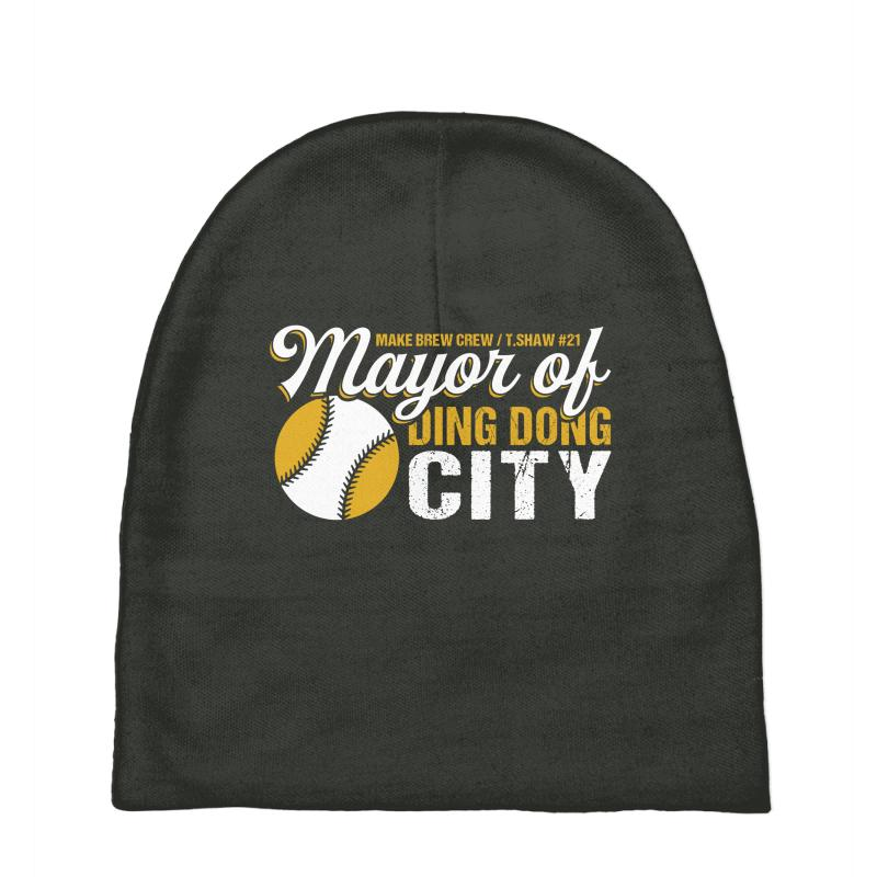 Travis Shaw - Mayor Of Ding Dong City Baby Beanies | Artistshot
