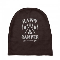 happy camping Baby Beanies | Artistshot