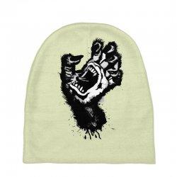 screaming hand werewolf Baby Beanies | Artistshot