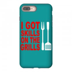 got skills on the grills apron iPhone 8 Plus Case | Artistshot