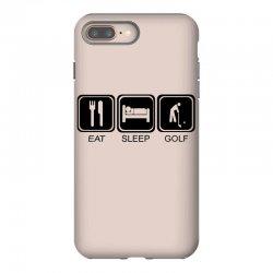 eat,sleep,golf iPhone 8 Plus Case | Artistshot