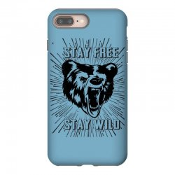 Stay Free Stay Wild iPhone 8 Plus Case | Artistshot
