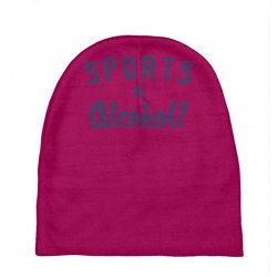 sports and alcohol! Baby Beanies | Artistshot