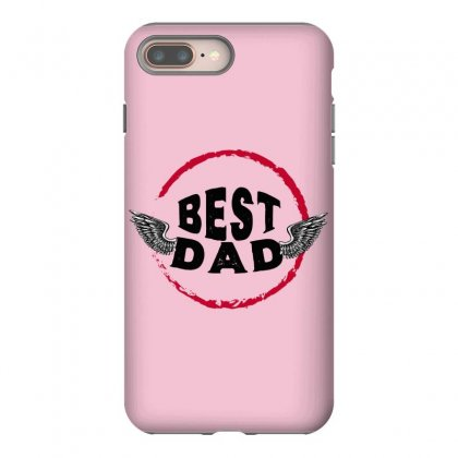 Best Dad Iphone 8 Plus Case Designed By Frg