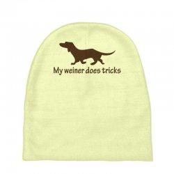 my weiner does tricks Baby Beanies | Artistshot