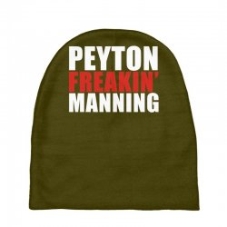 peyton freaking manning Baby Beanies | Artistshot