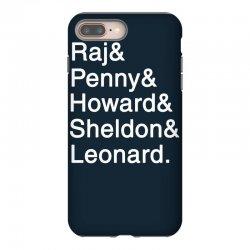 big theory list iPhone 8 Plus Case | Artistshot