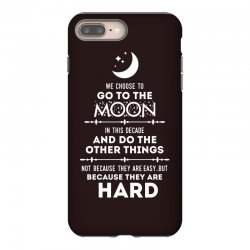 We Choose to Go to The Moon iPhone 8 Plus Case | Artistshot