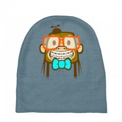 geek monkey Baby Beanies | Artistshot