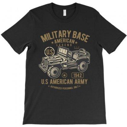 American Army Jeep T-shirt Designed By Killakam