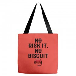 no risk it, no biscuit Tote Bags | Artistshot