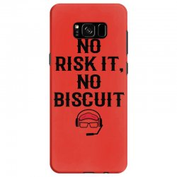 no risk it, no biscuit Samsung Galaxy S8 Case | Artistshot