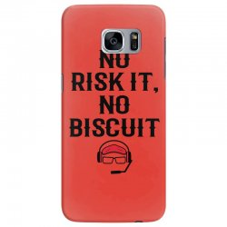 no risk it, no biscuit Samsung Galaxy S7 Edge Case | Artistshot