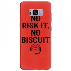 no risk it, no biscuit Samsung Galaxy S8 Plus Case | Artistshot