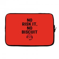 no risk it, no biscuit Laptop sleeve | Artistshot