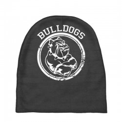 Bulldog Sports Team Baby Beanies | Artistshot