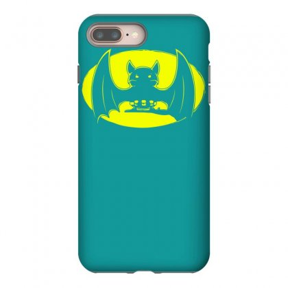 Bat Moon Iphone 8 Plus Case Designed By Specstore