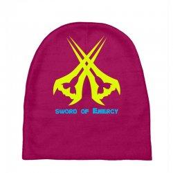 Sword Of The Energy Baby Beanies   Artistshot