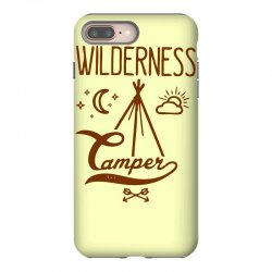 wilderness camper iPhone 8 Plus Case | Artistshot