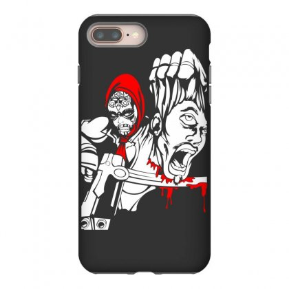 Red Murder Iphone 8 Plus Case Designed By Specstore
