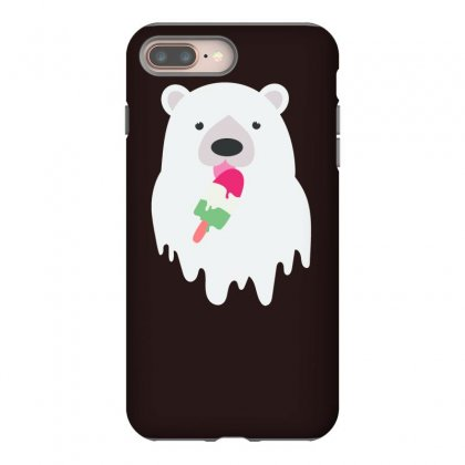 Melted Polar Cream Iphone 8 Plus Case Designed By Specstore