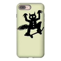 wild thing on a skateboard iPhone 8 Plus Case | Artistshot