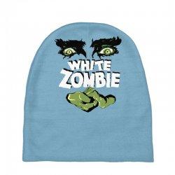 white zombie Baby Beanies   Artistshot
