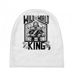 Wild World King Baby Beanies | Artistshot