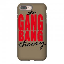 the gang bang theory iPhone 8 Plus Case | Artistshot