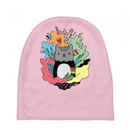 Abstracat Baby Beanies Designed By Specstore