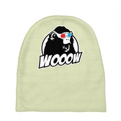 Wooow 3d Amazed Ape Baby Beanies Designed By Specstore