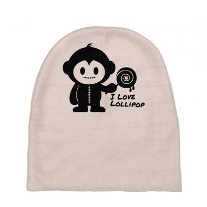 Monkeystein And Lollipop Baby Beanies Designed By Specstore