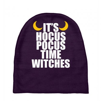 It's Hocus Pocus Time Witches Baby Beanies Designed By Specstore