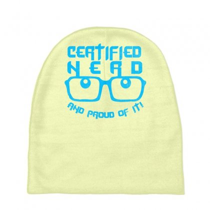 Certified Nerd Baby Beanies Designed By Specstore