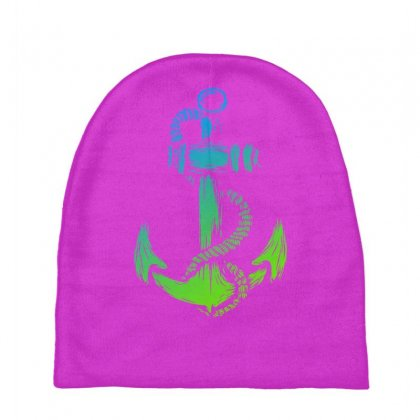 Anchor Of Life Baby Beanies Designed By Specstore