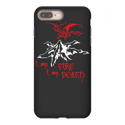 Fire And Death Iphone 8 Plus Case Designed By Specstore