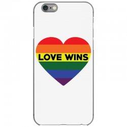 Love Wins iPhone 6/6s Case   Artistshot