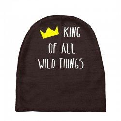 king of all wild things Baby Beanies | Artistshot