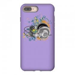 Music Animated Headphones Tshirt iPhone 8 Plus Case | Artistshot