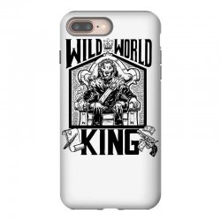 Wild World King iPhone 8 Plus Case | Artistshot