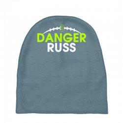 Custom Danger Russ Russell Wilson Seattle Seahawks Baby Beanies By ... 69e76eacfa5