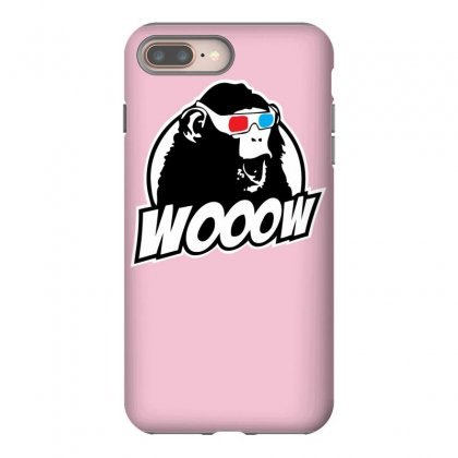 Wooow 3d Amazed Ape Iphone 8 Plus Case Designed By Specstore