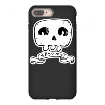 Spooky Skull Iphone 8 Plus Case Designed By Specstore