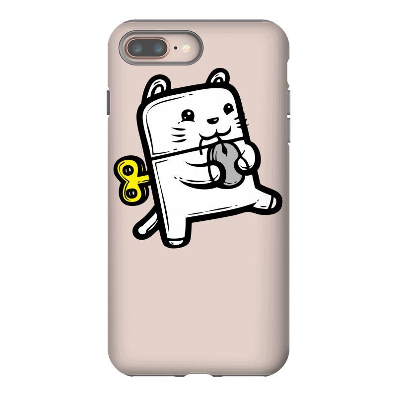 Robo Cat Iphone 8 Plus Case | Artistshot