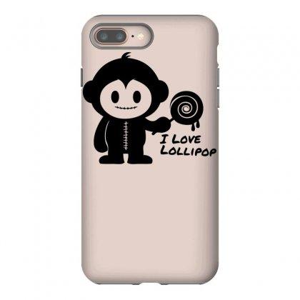 Monkeystein And Lollipop Iphone 8 Plus Case Designed By Specstore